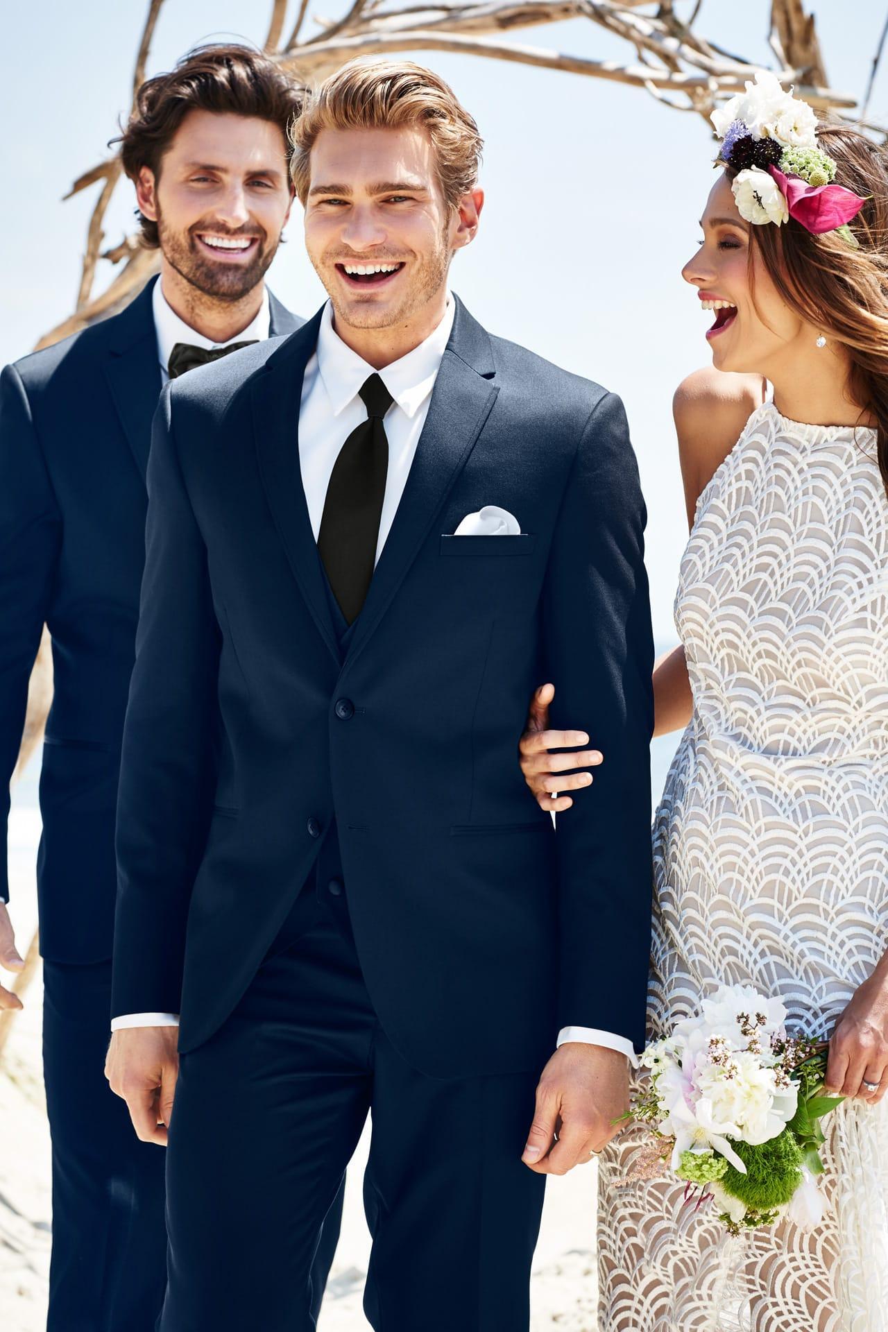 Michael Kors Navy Sterling Wedding Suit Slim Fit Suit | Jim's ...