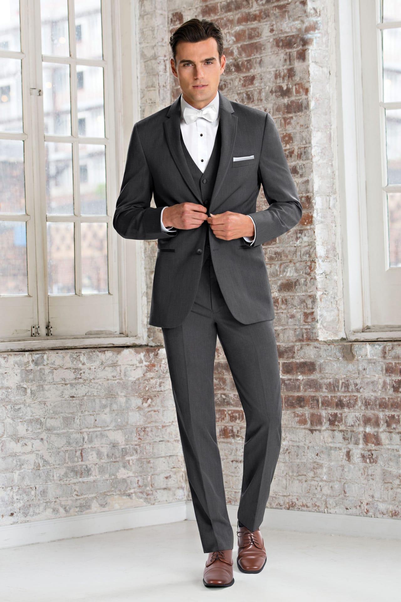 Michael Kors Ultra Slim Steel Grey Sterling Wedding Suit Ultra ...