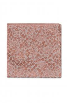 Dusty Coral Floral Pocket Square