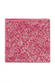 Fuchsia Floral Pocket Square
