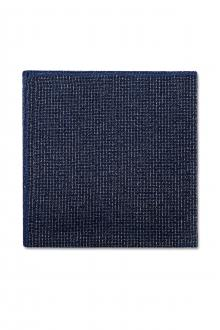 Foundation Blue Pocket Square