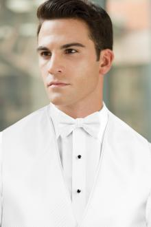 Synergy White Bow Tie