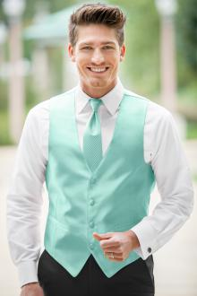 Expressions Tiffany Blue Vest