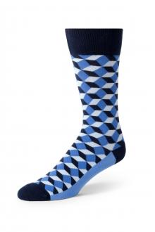 Blue Beeline Optical Socks