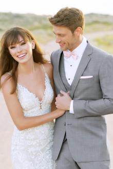 Ultra Slim Heather Grey Clayton Suit