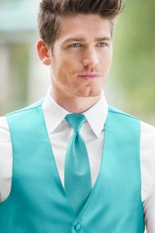 Striped Expressions Turquoise Windsor