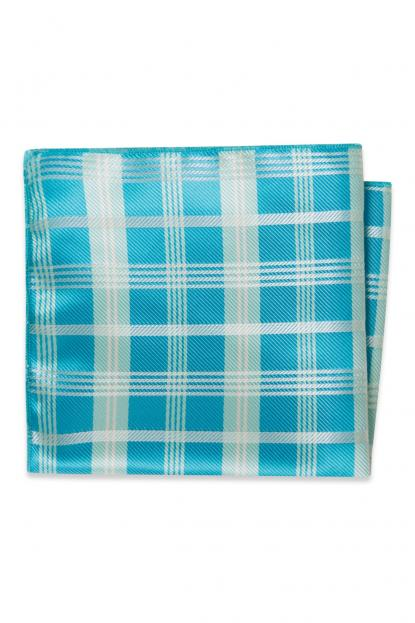 Malibu Plaid Pocket Square