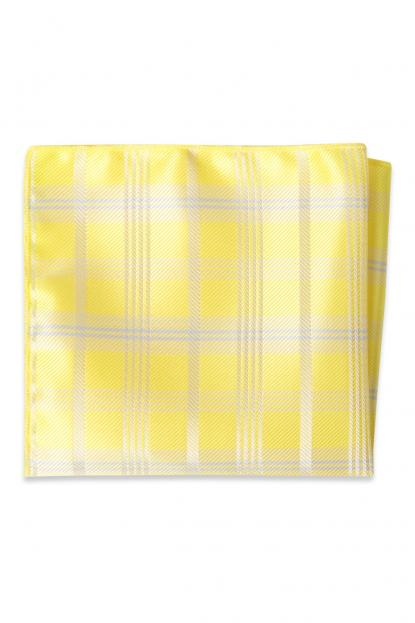 Sunbeam Plaid Pocket Square