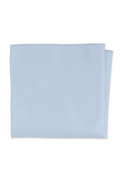 Expressions Lite Blue Pocket Square