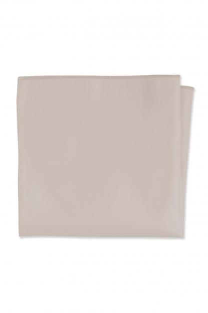Expressions Taupe Pocket Square