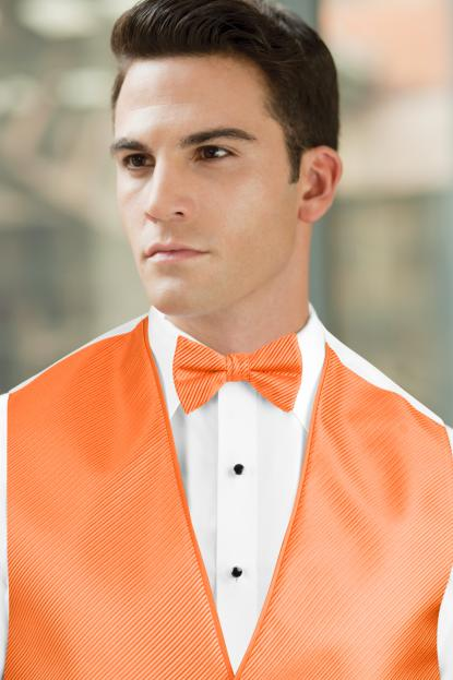 Synergy Brite Orange Bow Tie
