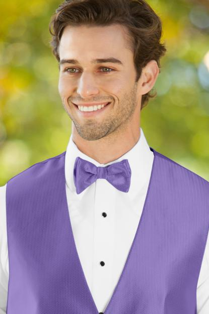 Herringbone Freesia Bow Tie