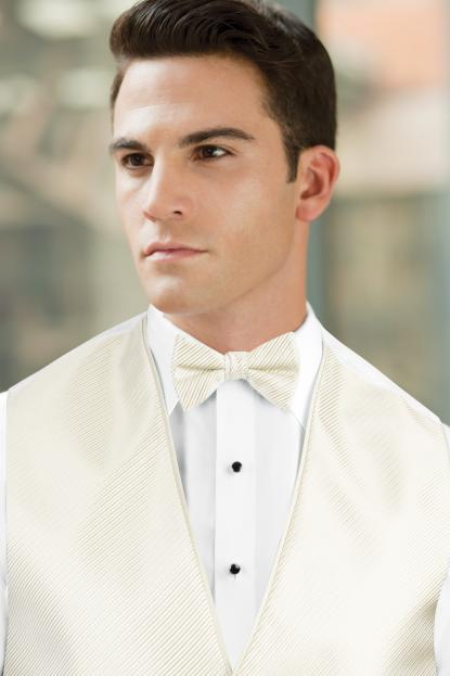 Synergy Ivory Bow Tie