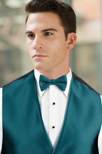 Synergy Teal Bow Tie