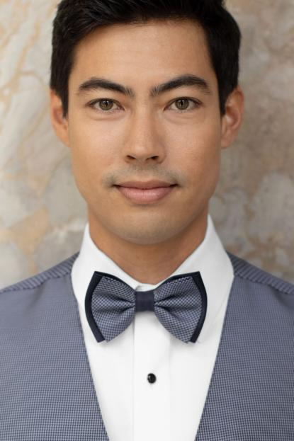 Foundation Navy Bow Tie