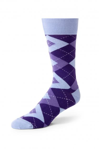 Regency Argyle Socks