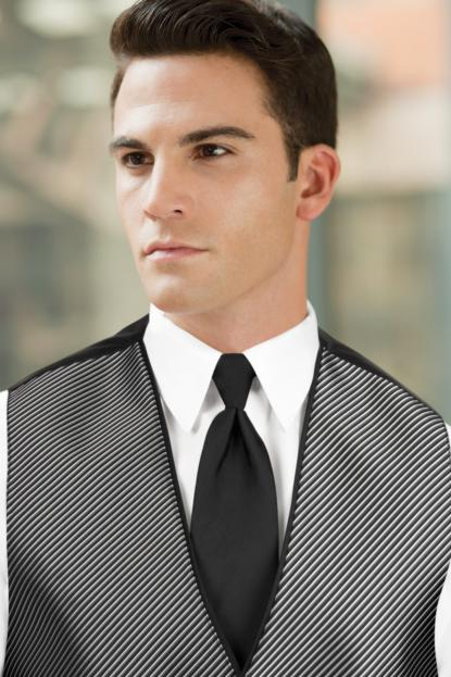 Solid Black Windsor