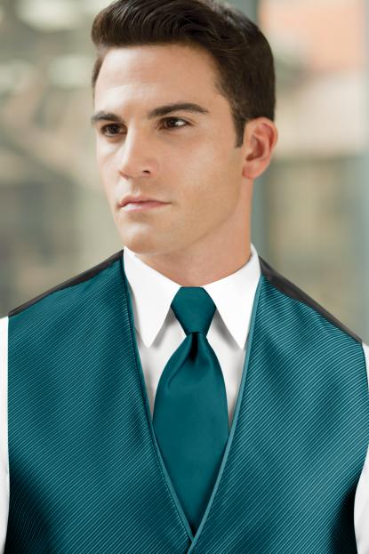 Solid Teal Windsor