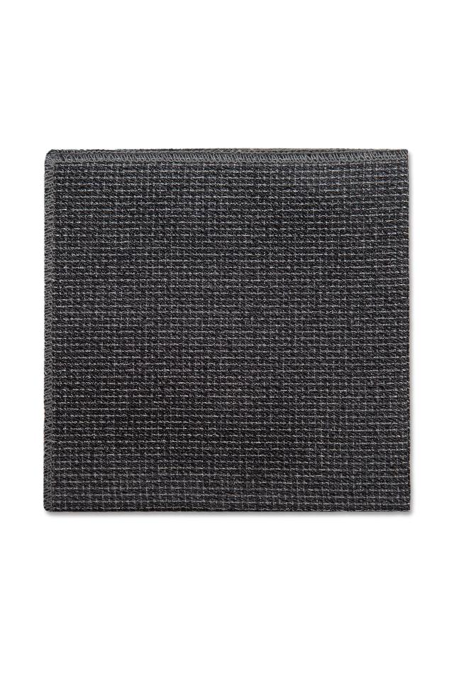Foundation Steel Grey Pocket Square