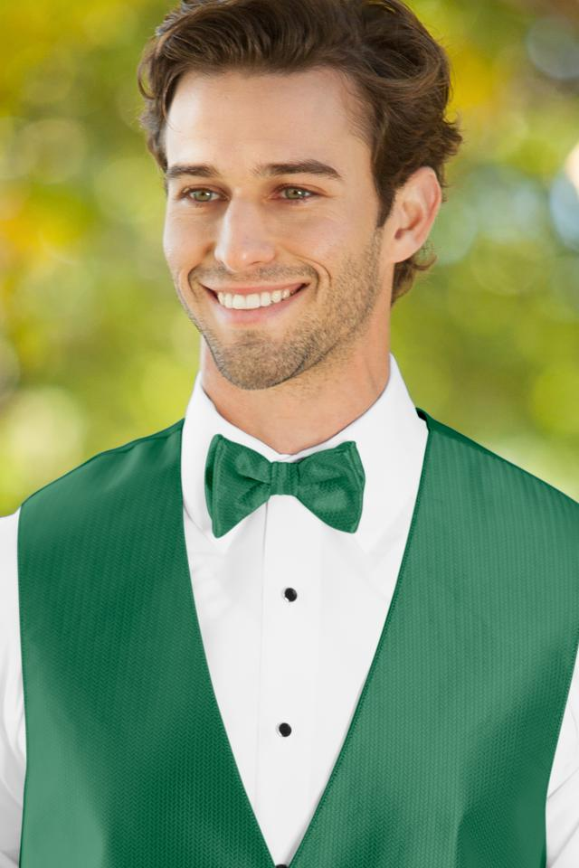 Herringbone Emerald Green Bow Tie Jim S Formal Wear