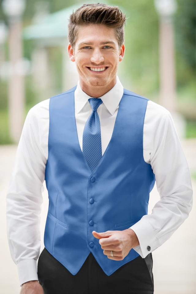 Expressions Cornflower Vest | Jim\'s Formal Wear