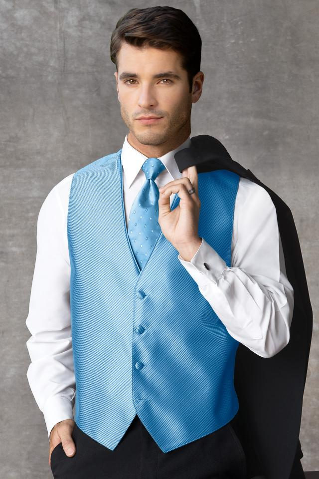 Synergy Ocean Blue Vest | Jim\'s Formal Wear