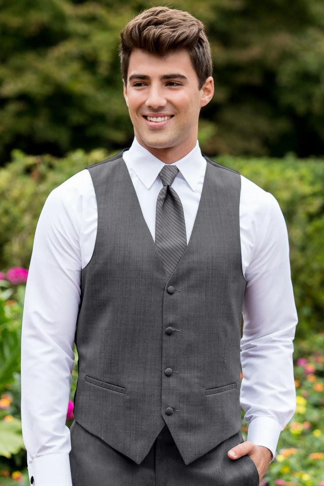 Sterling Steel Grey Vest
