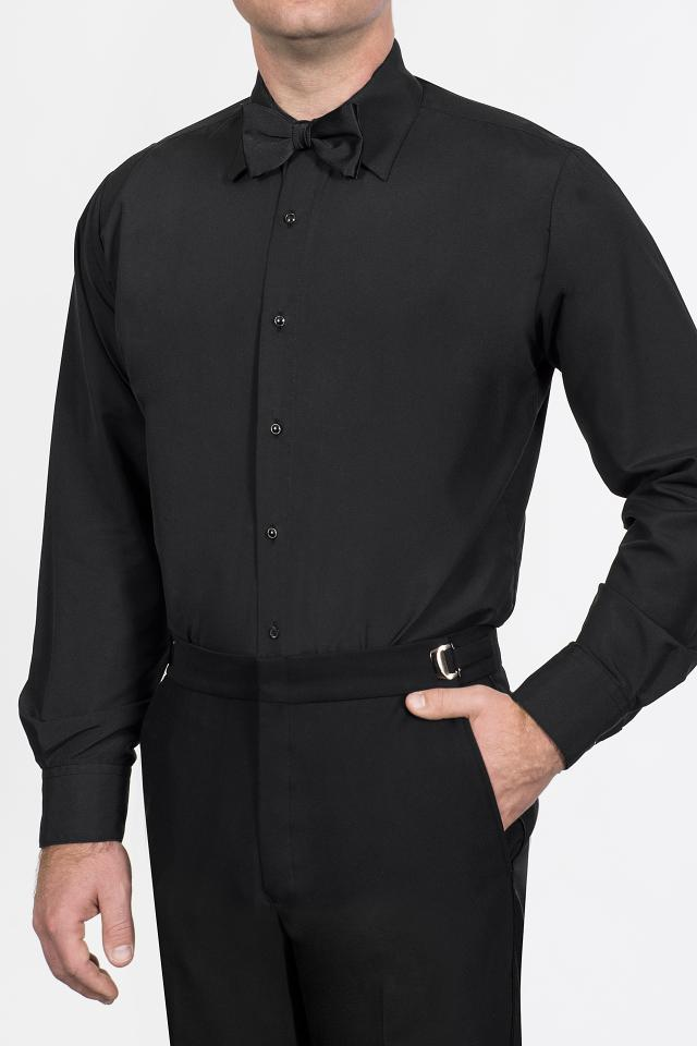 Black Microfiber Jims Formal Wear