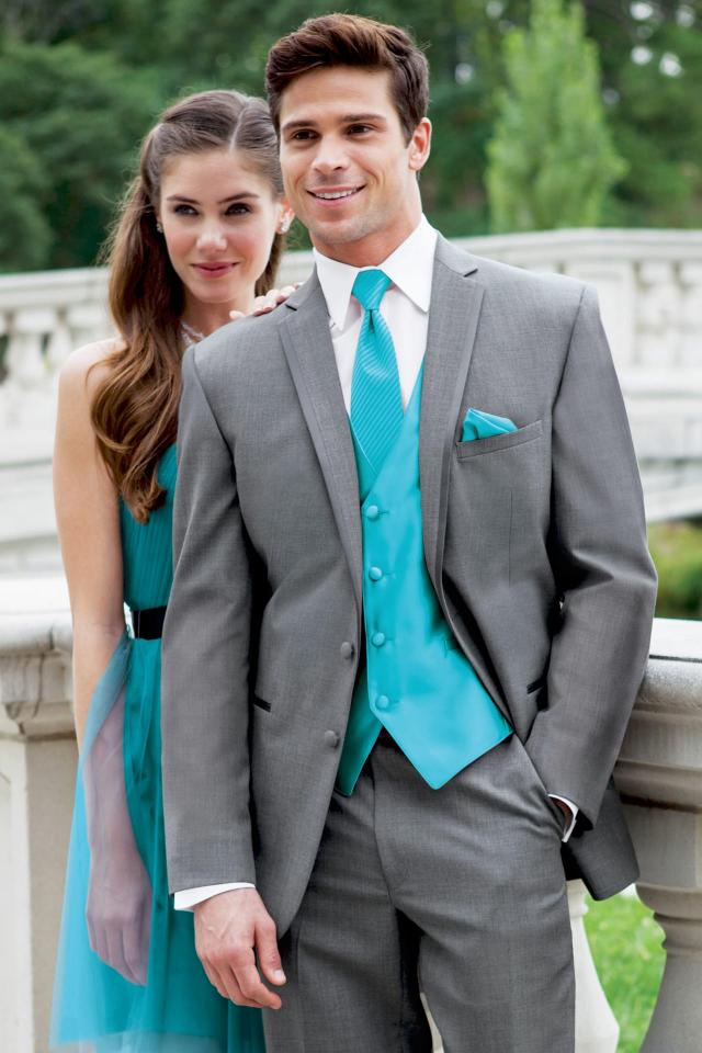 Stephen Geoffrey Grey Aspen Slim Fit Tuxedo | Jim's Formal Wear