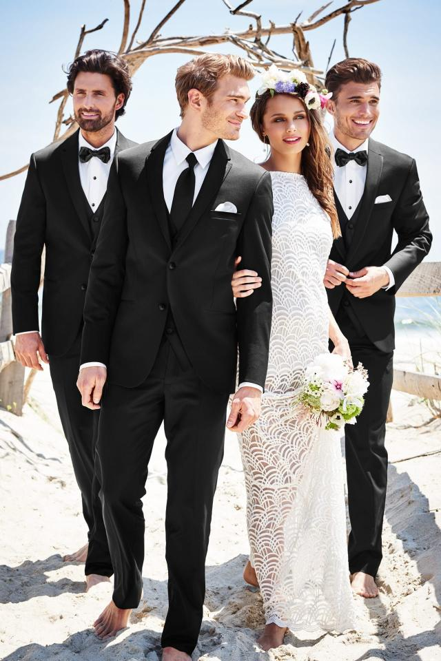Michael Kors Sterling Wedding Suit Slim Fit Suit