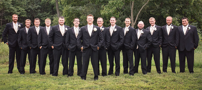 Tuxedo Rentals In Your Retail Store Servicing Wedding Parties