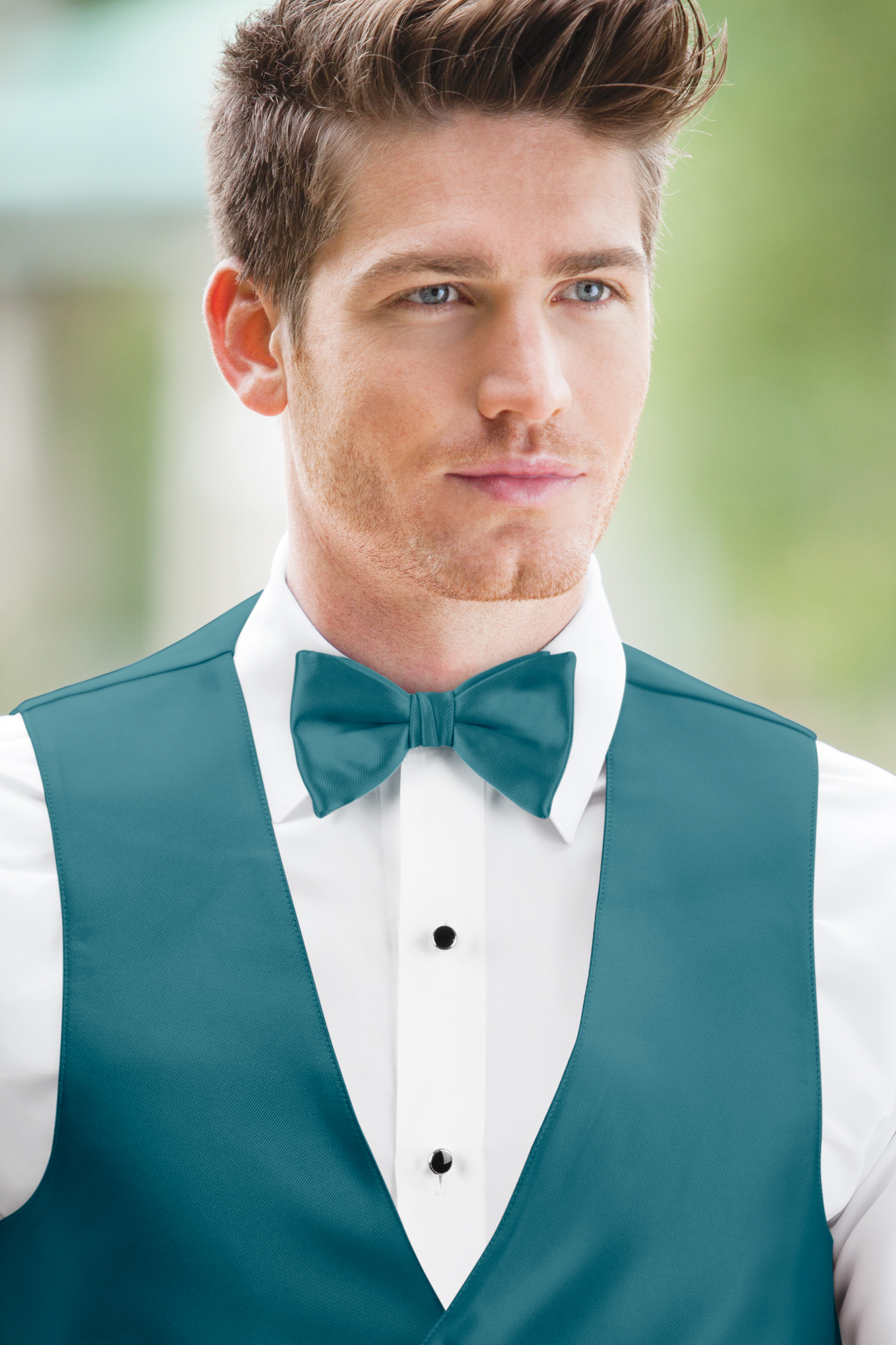 Expressions Teal Bow Tie | Jim\'s Formal Wear