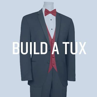Tuxedo rental men 39 s formal wear jim 39 s formal wear for Tux builder