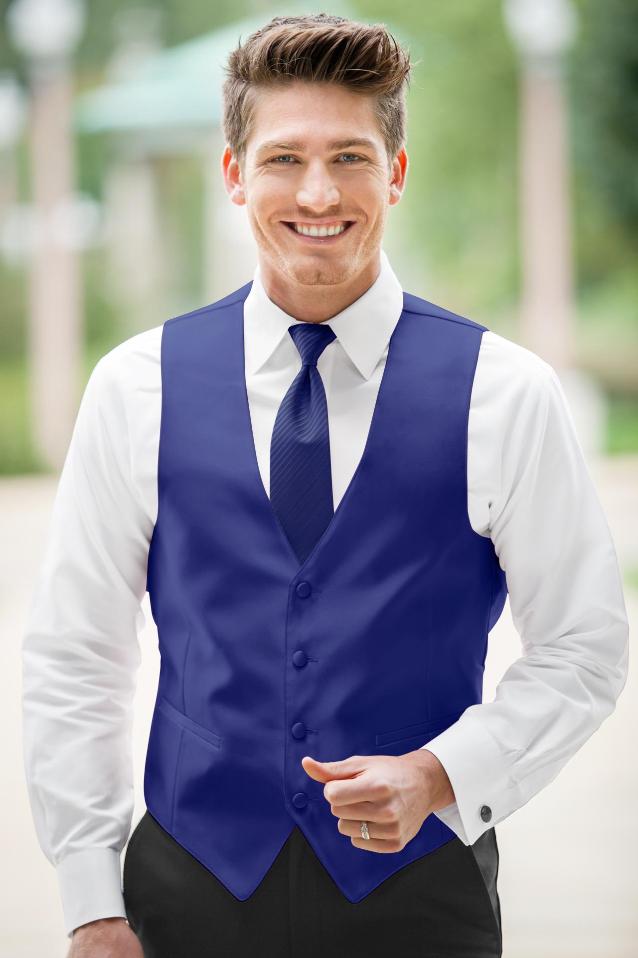 Expressions Cobalt Vest Jim S Formal Wear