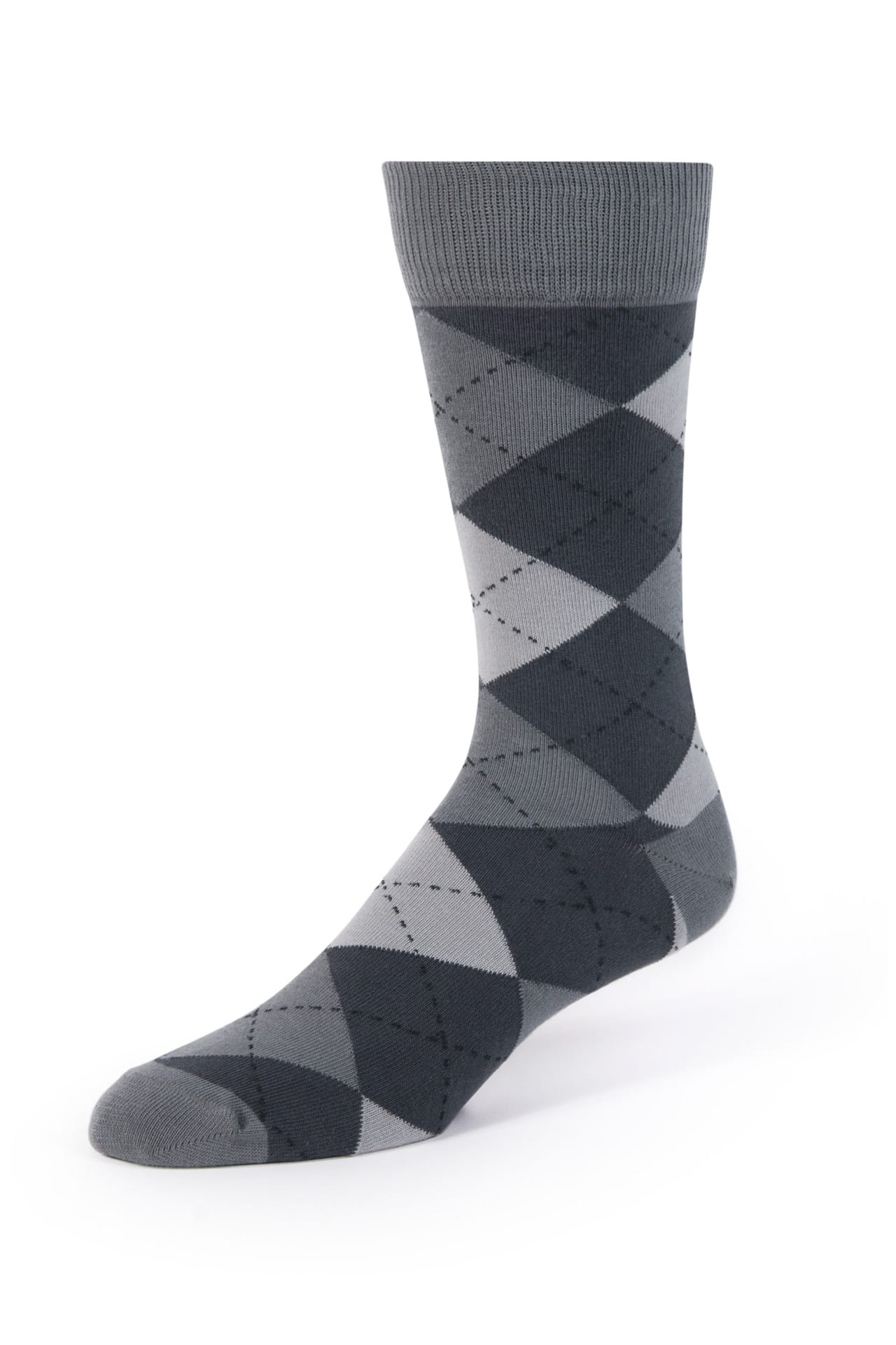 Dark Gray Argyle Socks Jim S Formal Wear