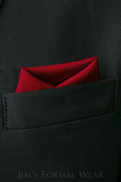 pocket square, tuxedo