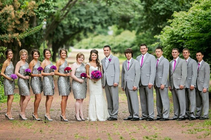 Grey Tuxedo Wedding Party | Wedding Ideas