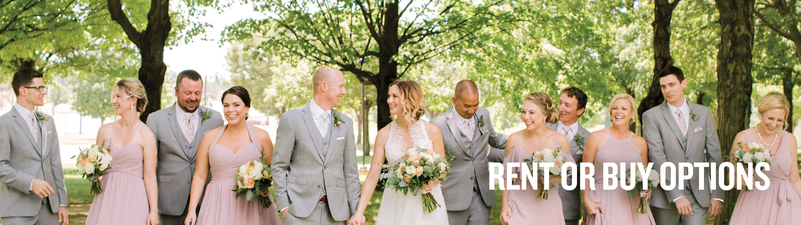 Rent or Buy Suits for Weddings