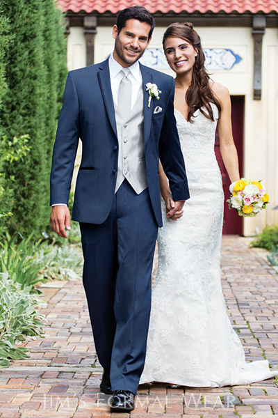 slate blue, burberry, tuxedo, slim fit, Aspen, wedding tux