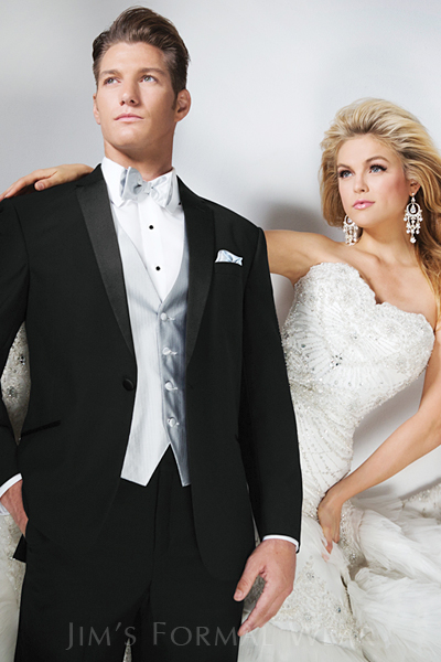 wedding tuxedo, slim fit, Tony Bowls