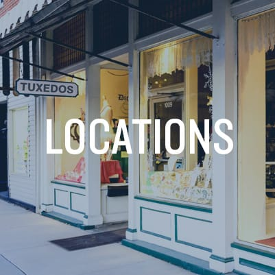 Tuxedo Rental Locations and Stores