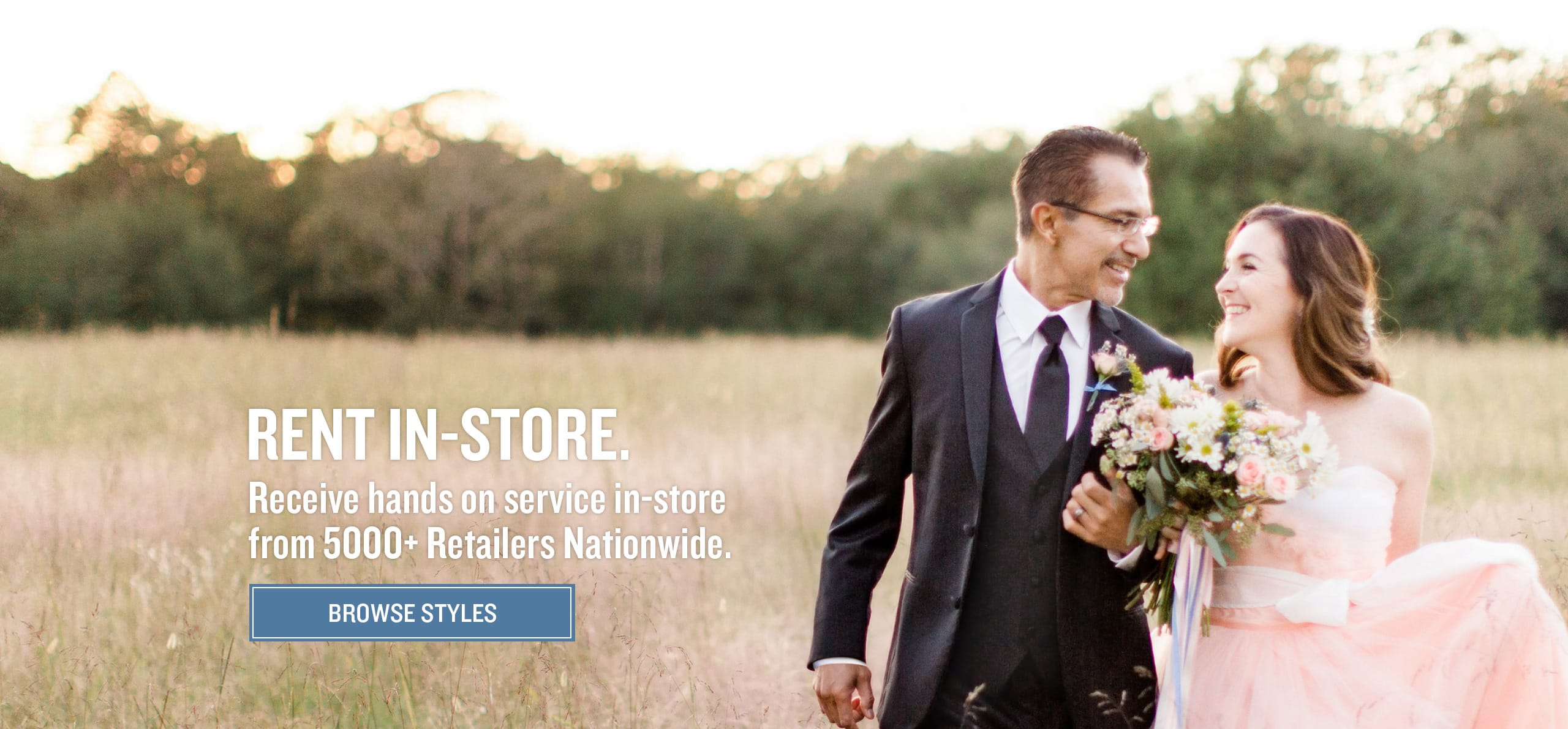Browse our selection of tuxedos and suits for rental in-store.