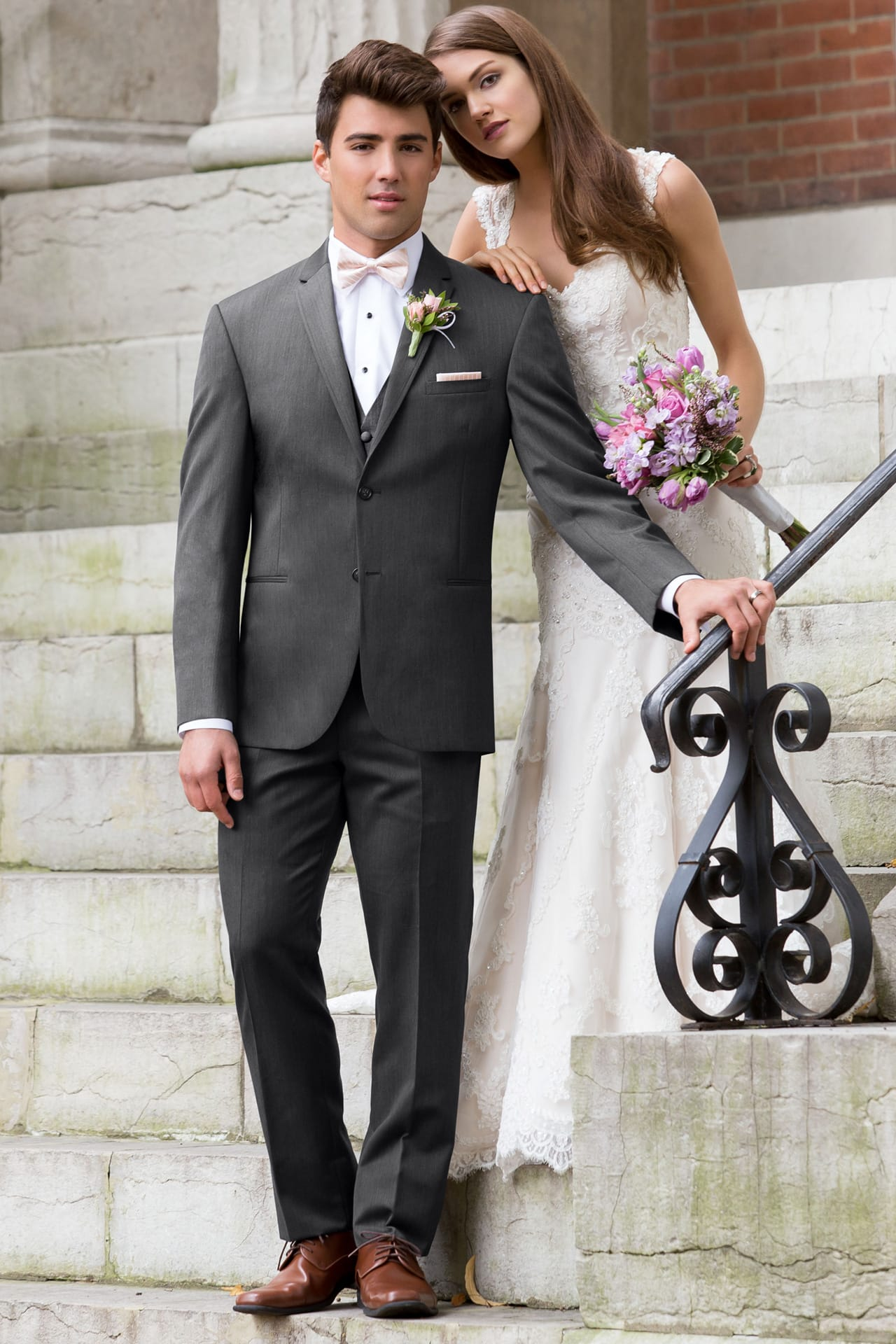 Michael Kors Ultra Slim Steel Grey Sterling Wedding Suit