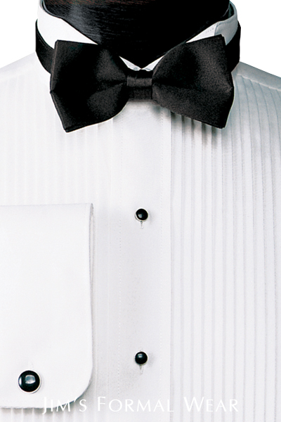 formal shirt, bow tie, wing tip